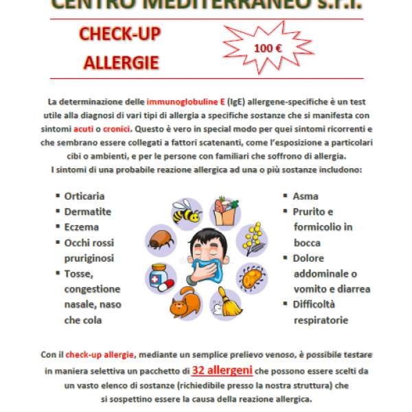 Check-up Allergie